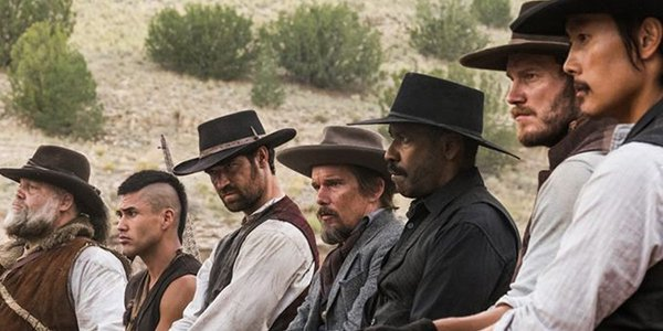 I Magnifici 7, Denzel Washington, Chris Pratt, Antoine Fuqua, Ethan Hawke, Vincent D'Onofrio
