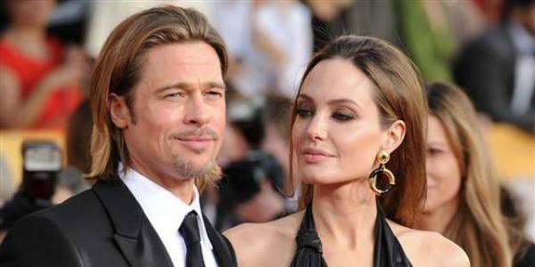 Brad Pitt ed Angelina Jolie