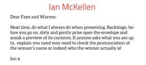 Ian McKellen Twitter