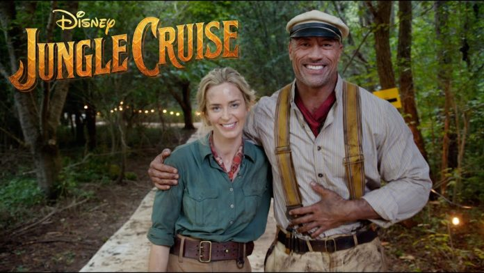 Jungle Cruise, Dwayne Johnson, Emily Blunt