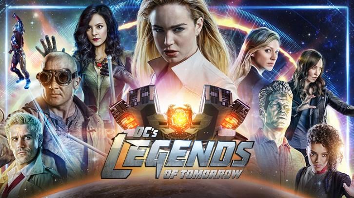Dc s legends of tomorrow il poster della quarta stagione con i