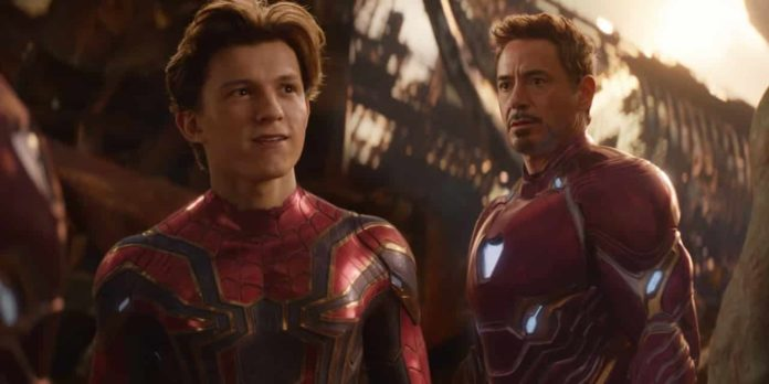 Avengers - Endgame, Iron Man, Spider-Man, Peter Parker, Robert Downey Jr. Tom Holland, Tony Stark, Peter Parker