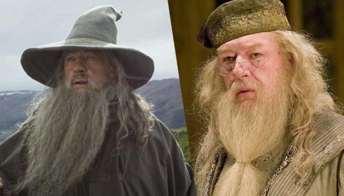 Gandalf, Silente