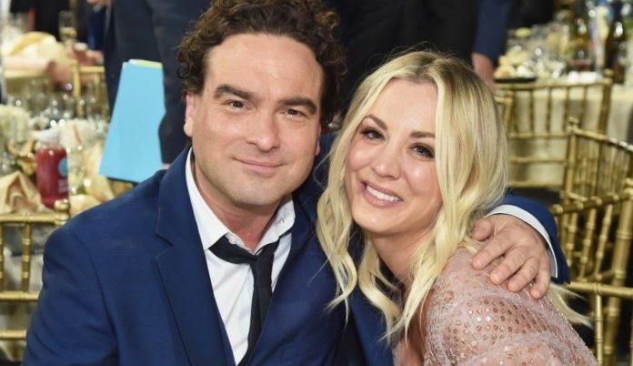 Kaley Cuoco, Johnny Galecki, The Big Bang Theory