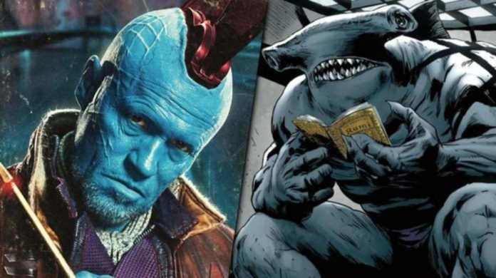 The Suicide Squad,Michael Rooker, King Shark