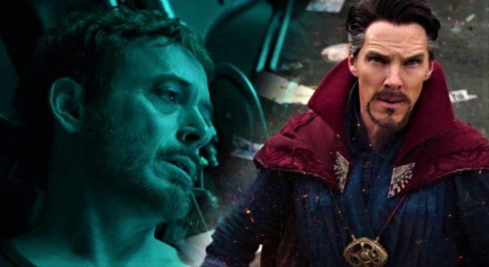 Tony Stark, Doctor Strange, Avengers - Endgame