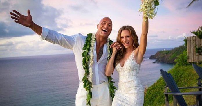 Dwayne Johnson matrimonio