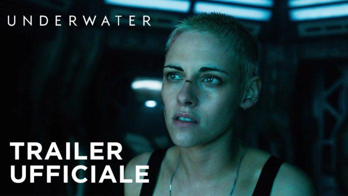 Underwater, Kristen Stewart