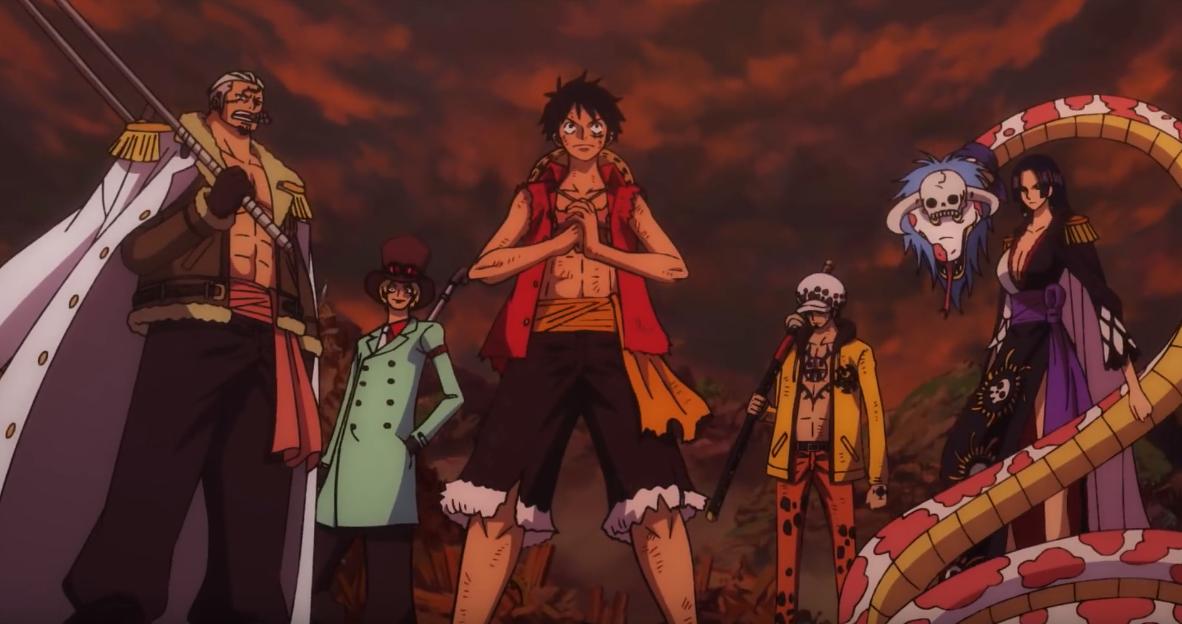 One Piece - Stampede: ecco il teaser trailer italiano del film animato - CinemArt Magazine