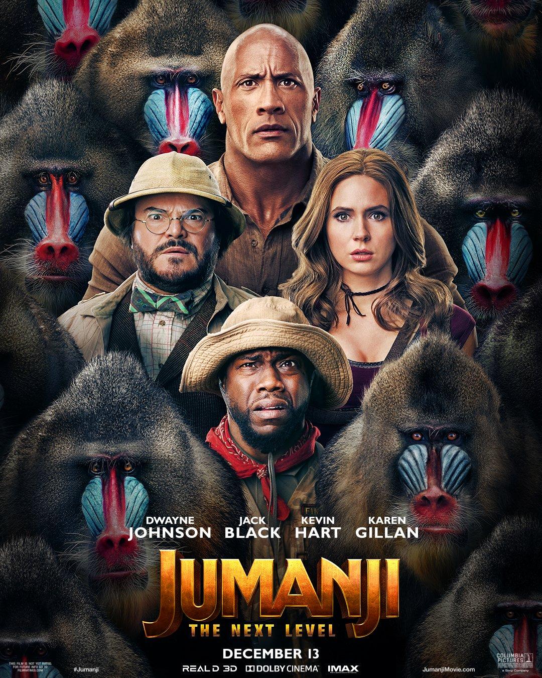 Poster Jumanji - The Next Level