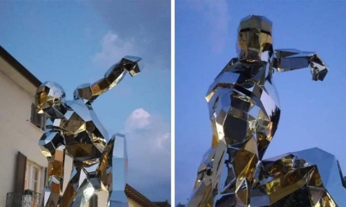 Statua Iron Man