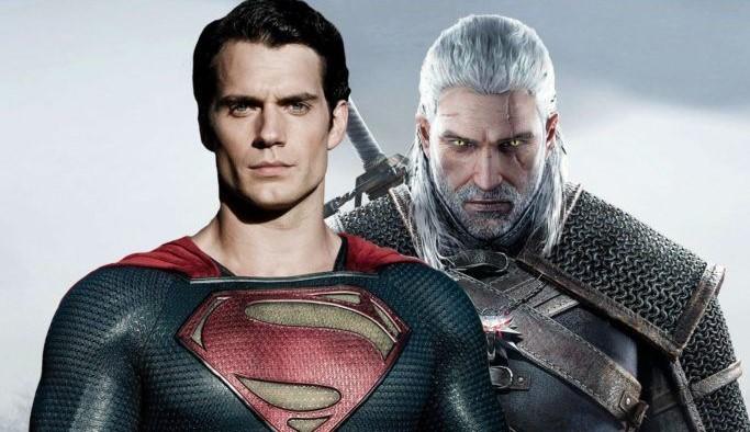 Henry Cavill, Superman, Geralt di Rivia, The Witcher