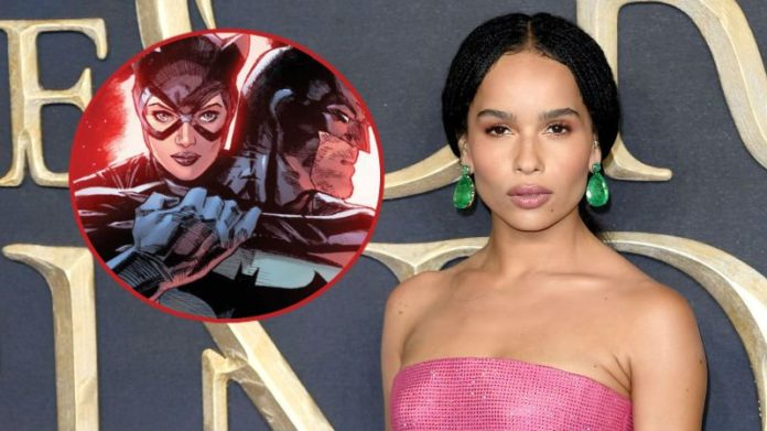 Zoë Kravitz, Catwoman, The Batman