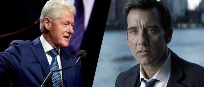 Clive Owen, Bill Clinton
