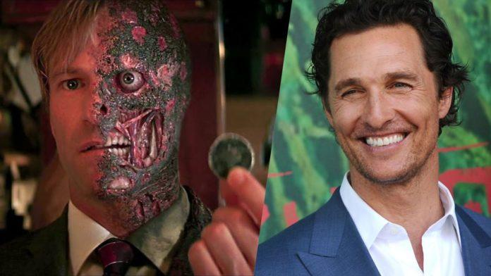 Matthew McConaughey, Harvey Dent, Due Facce