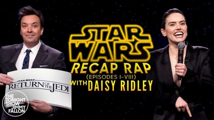 Star Wars, Daisy Ridley, Jimmy Fallon