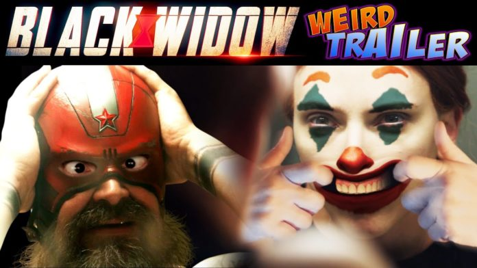 Black Widow Weird Trailer, Vedova Nera Weird Trailer