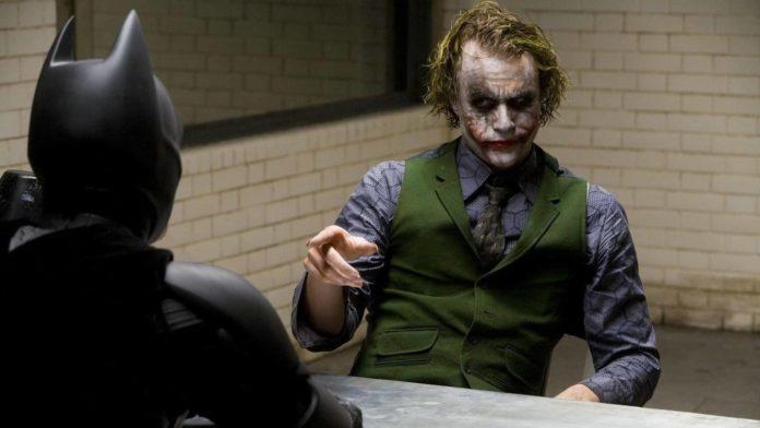 Il Cavaliere Oscuro, Batman, Joker, Christian Bale, Heath Ledger
