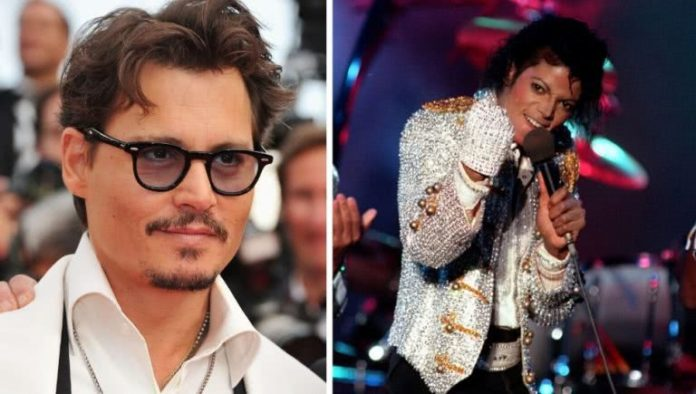 Johnny Depp, Michael Jackson