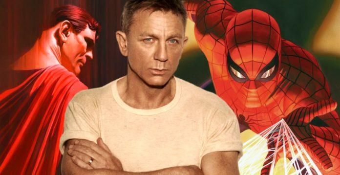 Daniel Craig, Superman, Spider-Man