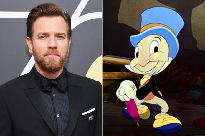 Ewan McGregor, Grillo Parlante, Pinocchio