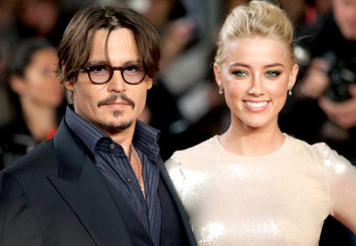 Johnny Depp ed Amber Heard
