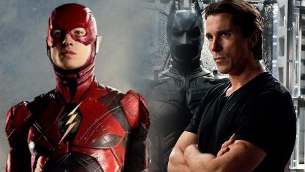 The Flash, Batman, Christian Bale
