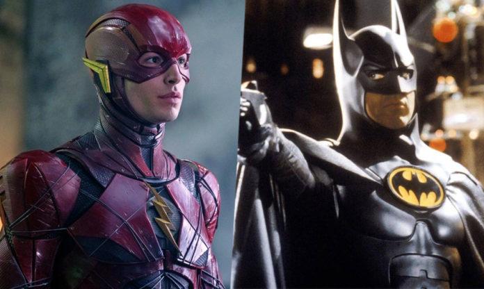 The Flash, Michael Keaton, Batman