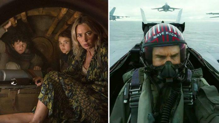 A Quiet Place 2 e Top Gun - Maverick