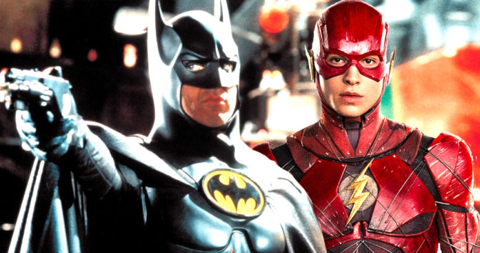 Batman, Michael Keaton, The Flash, Ezra Miller