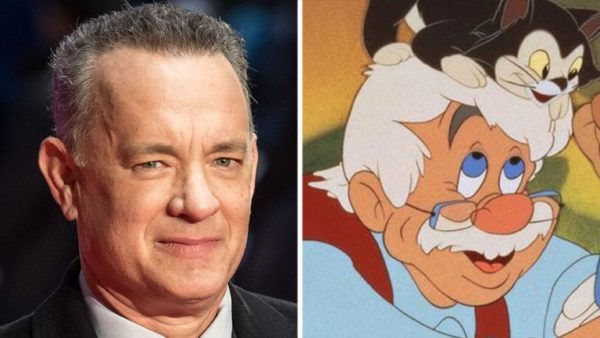 Pinocchio, Tom Hanks, Geppetto