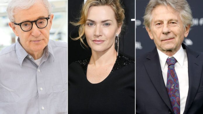 Kate Winslet, Woody Allen, Roman Polanski