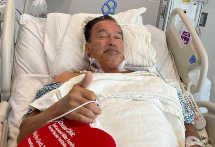 Arnold Schwarzenegger ospedale