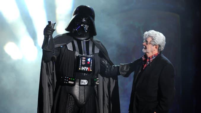 George Lucas e Darth Vader
