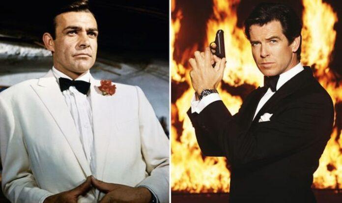 Sean Connery, Pierce Brosnan, James Bond, 007