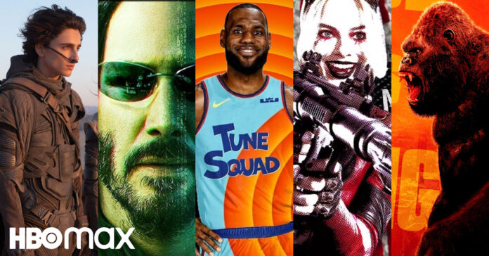 Warner Bros.,, HBO Max, Dune, Matrix 4, Space Jam - A New Legacy, The Suicide Squad, Godzilla vs. Kong