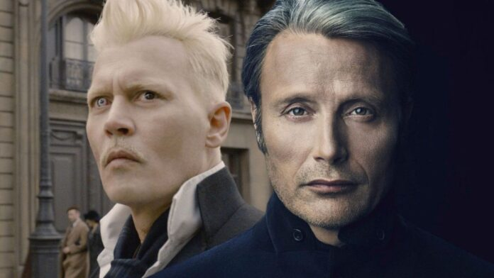 Mads Mikkelsen, Johnny Depp, Gellert Grindelwald