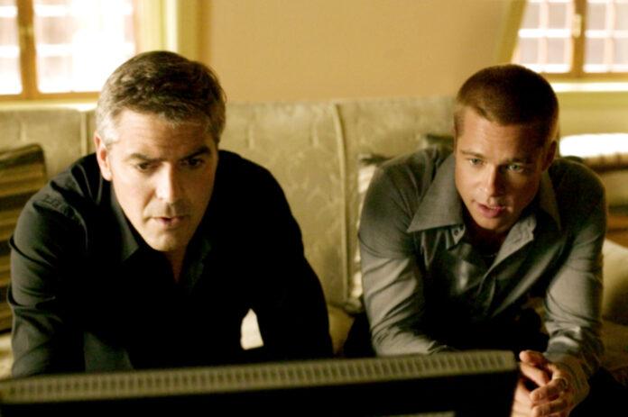 Ocean's Twelve, George Clooney, Brad Pitt
