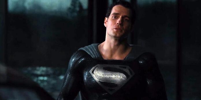 Superman costume nero