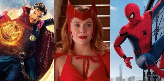WandaVision, Spider-Man 3 e Doctor Strange 2