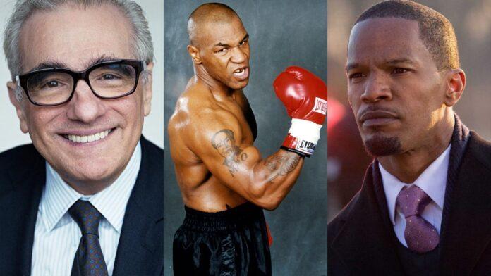 Martin Scorsese, Mike Tyson, Jamie Foxx
