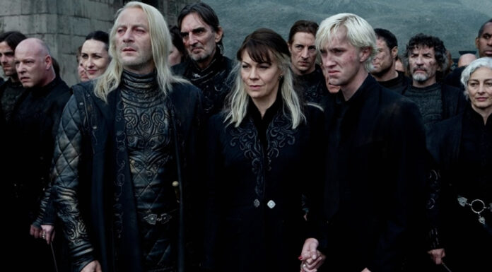 Lucius Malfoy, Narcissa Malfoy, Draco Malfoy