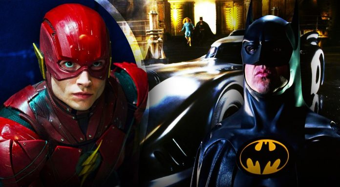 The Flash, Batman, Michael Keaton
