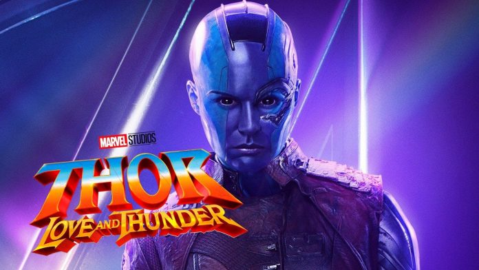 Karen Gillan, Thor: Love and Thunder, Nebula
