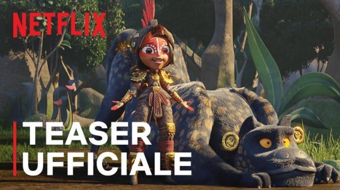 Maya e i Tre Guerrieri teaser trailer