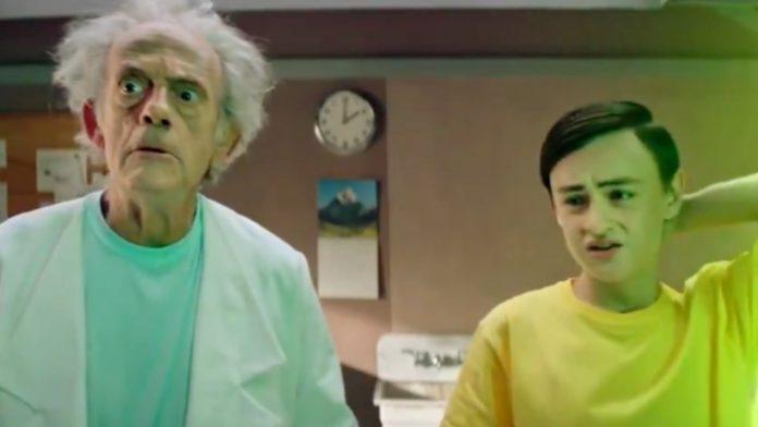 Rick and Morty, Christopher Lloyd, Pickle Rick